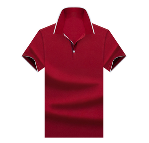 OEM Factory Supply Custom Designs Cotton Pique Business Casual Polo T-shirt