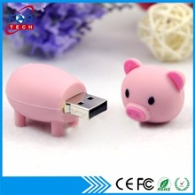 Xmas Happy Holidays Cute Stick Usb,USB Stick Funny Pig Logo Usb Flash Memory 1gb to 128gb Wedding Accessories