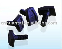 T type forged rail clip bolt.