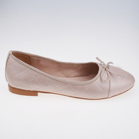 Beige Leather Womens Trendy Womens Dress Wholesale Shoes USA