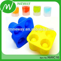 Cup Shape OEM Design Silicone Pellet Ice Cube Tray