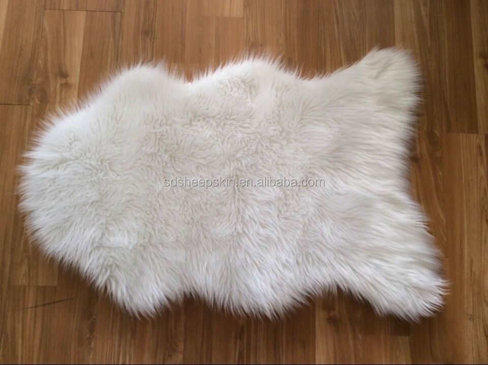 New Style Home Deco Synthetic Sheepskin Faux Fur Rugs Living Room Carpet Bu
