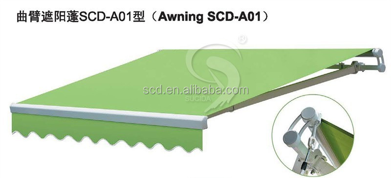2016 used aluminium retractable awnings for sale