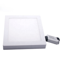 Wholesale led surface mounted 6w 12w 18w 24w ceiling led panel lighting