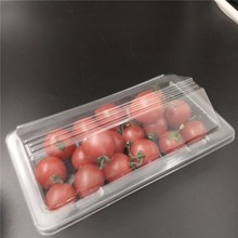 Tomate cereja pequeno clamshell caixa