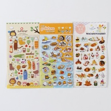 Custom pasen decoratie home decor sheet EVA Foam Bubble <span class=keywords><strong>gezwollen</strong></span> <span class=keywords><strong>sticker</strong></span> voor kids