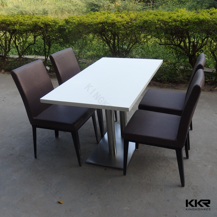 Artificial Marble Top Kitchen Work Dinner Table - Buy Artificial