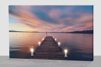 verlichte canvas schilderij woonkamer decor kunst aan de muur canvas prints met led verlichting