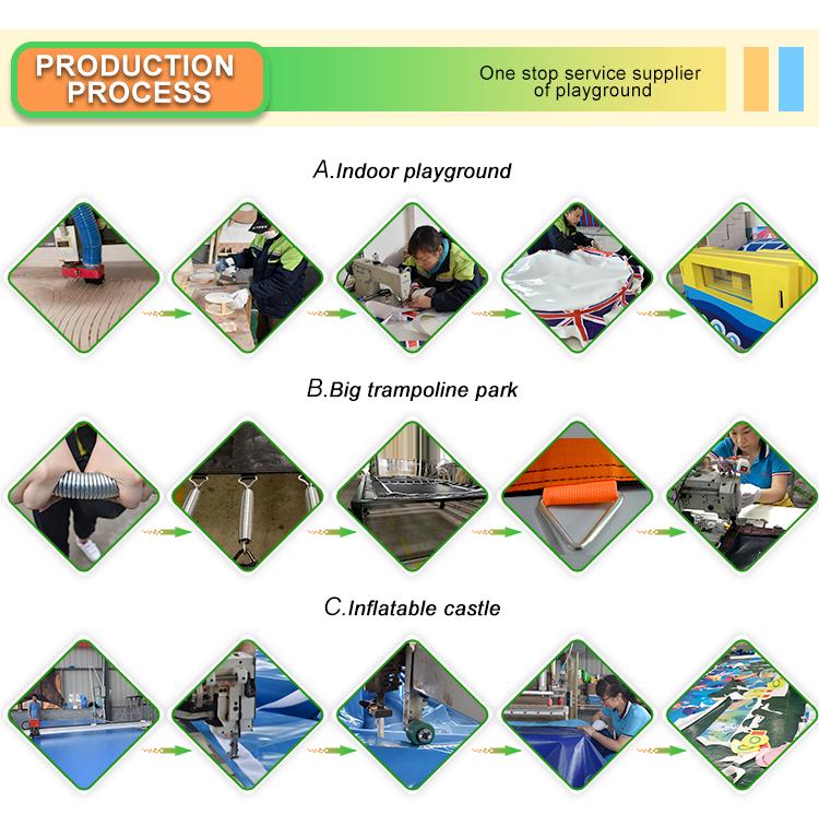 Kleurrijke Goedkope Kids Indoor Play Gym voor Thuis