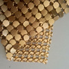 Gold Aluminum Mesh Sequin Curtains