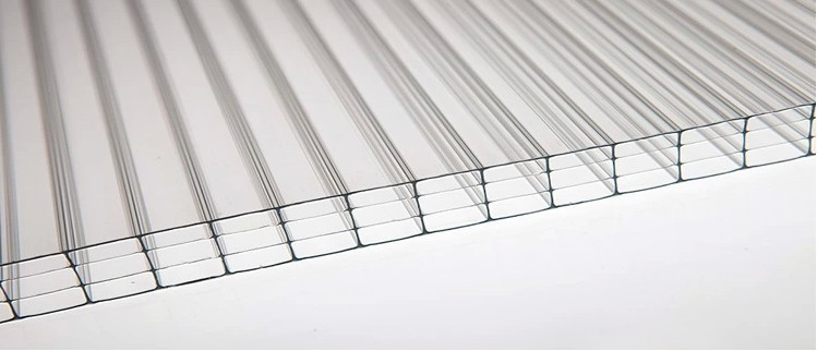 Clear And Colored Polycarbonate Corrugated Plastic Roofing