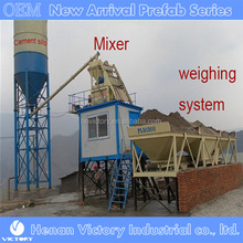 Global Construction Project Small Stationary Ready Mixed Concrete Batching Plant Price