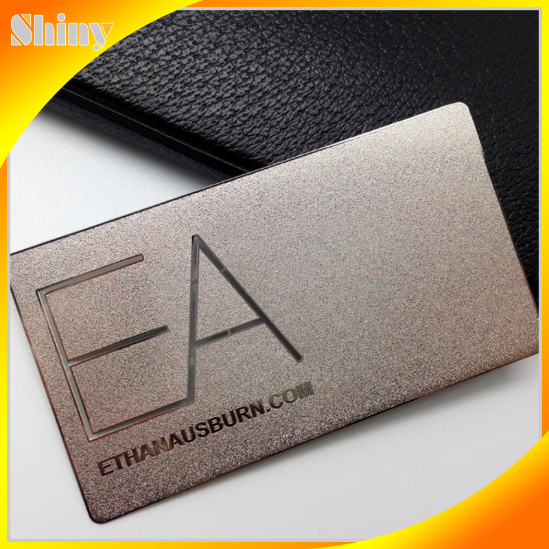 Silver/ Gold Foil Embossed Business Cards - Buy Embossed Business ...