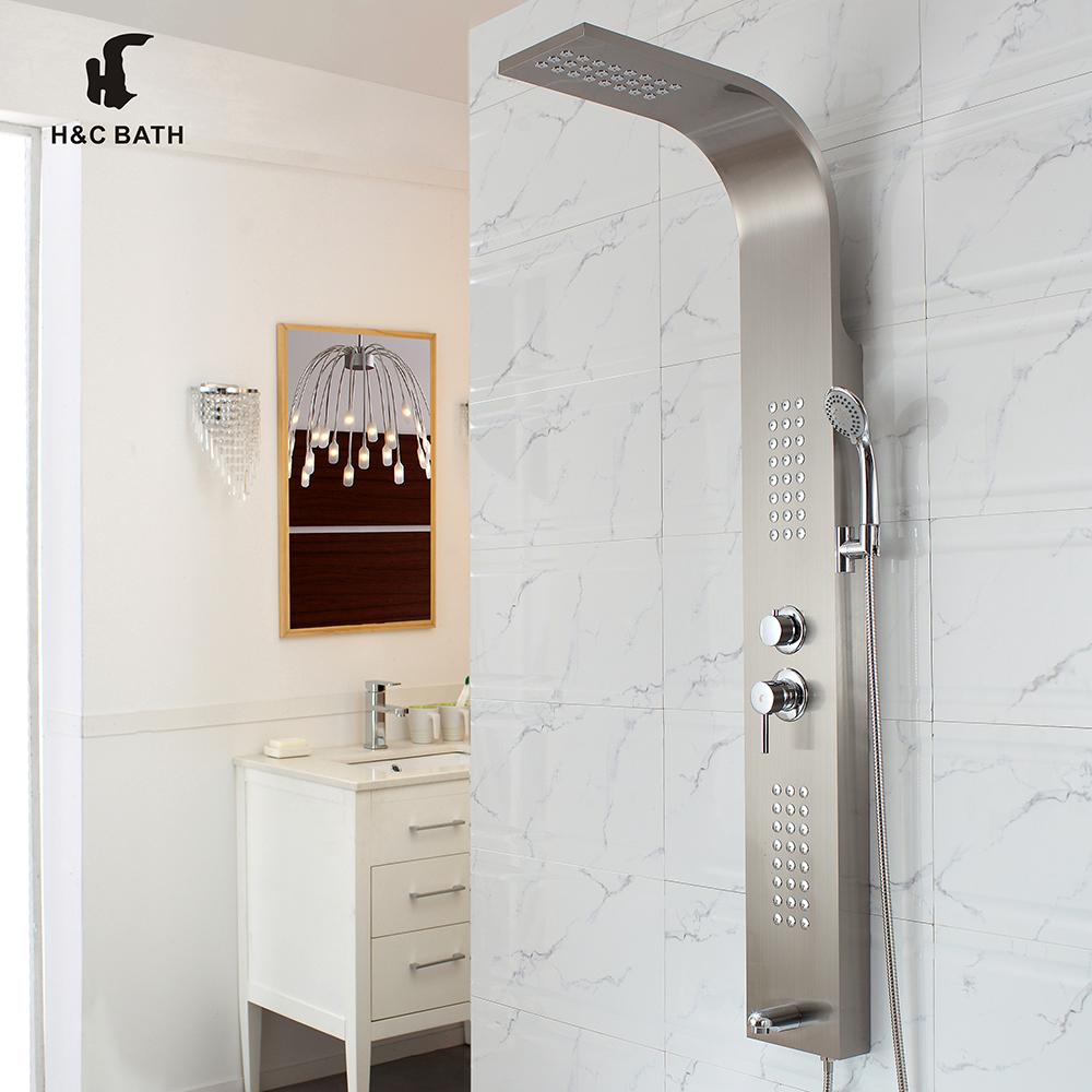 . High Quality Modern Shower Panel With Bathroom Accesory   Buy Shower Panel  With Bathroom Accesory Bathroom Accessory Shower Panel Product on