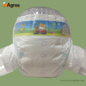 Wholesale Magic Soft Cotton Sleepy Baby Diapers In Bales