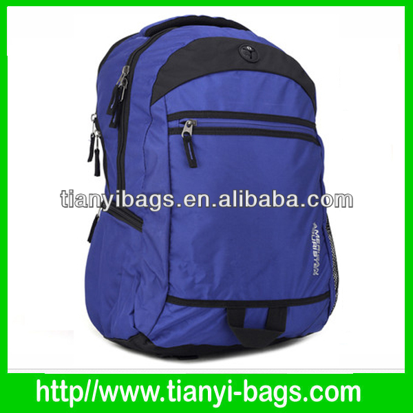 College University School backpack with laptop sleeve