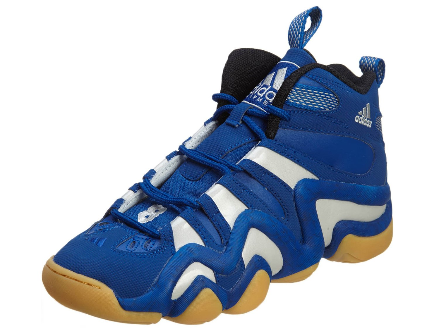 more photos ae500 c05ff adidas Mens Crazy 8 Collegiate RoyalWhiteGum 10
