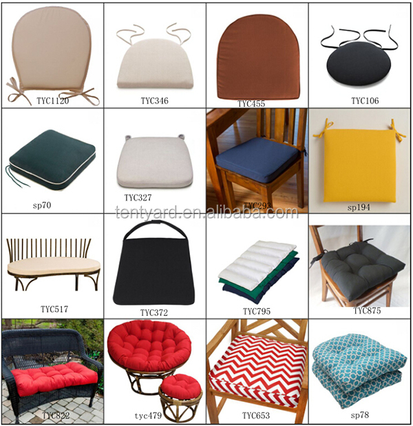 Awesome Dining Room Outdoor Weather Resistant Chair Seat Cushion U Shaped Seat  Cushion