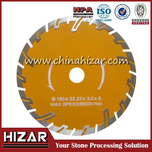 double blade circular saw laser welded diamond saw blade