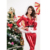 Punky Santa Hoodie Top and Pants Adult Sexy Women Christmas Costume
