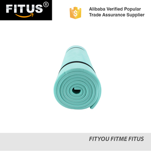 FITUS EVA Waterproof Foam Single Camping Mat Ultra Light Extra Thick Sleeping Pad for Hiking Picnic Climbing Yoga Exercise Mat