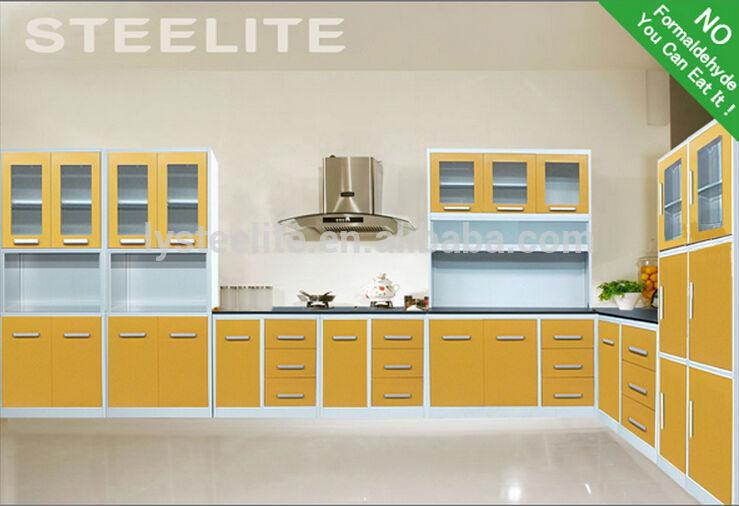 L Type Small Kitchen Design