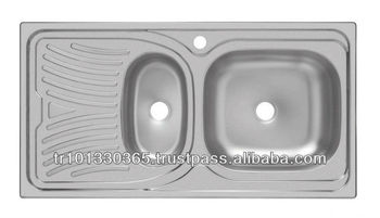 Inset Kitchen Sink - Buy 304 Stainless Steel Kitchen Sink,Inset Sink ...