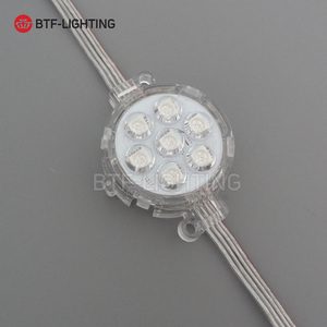 IP68 DC24V 1.44W 50mm Epistar SMD5050 RGB LED chip led point light source