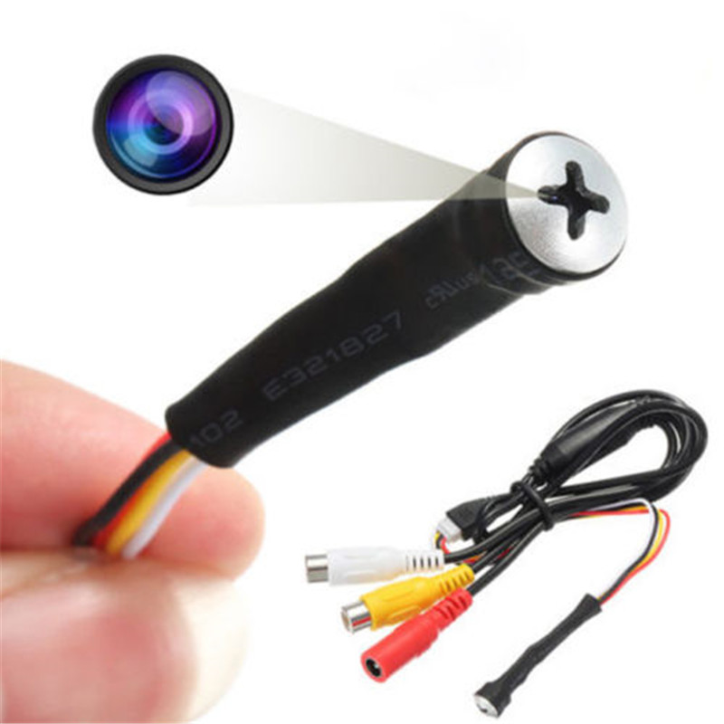 mini lens HD 700TVL wired cctv  thin camera security micro SPY CAMERA Screw Lens