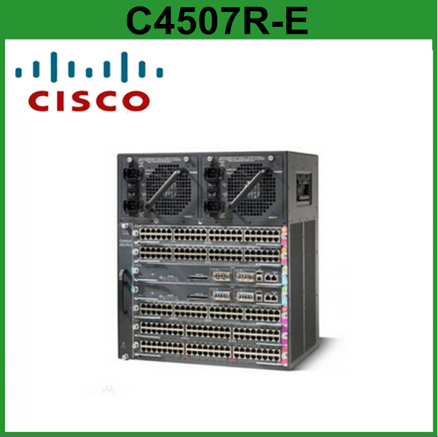 Shanghai Light Industrial Products Import And Export Corporation: Cisco Fiber Optic Switches Catalyst C4507R-E Core Switch