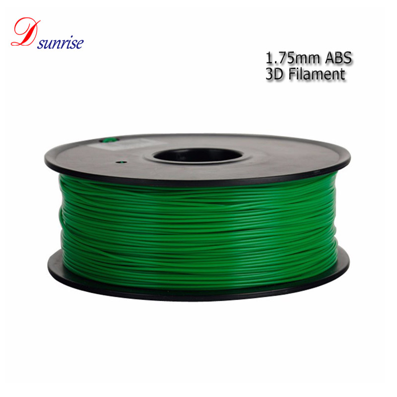 Free shipping green 3d printer filament abs,3d printing filament <strong>manufacturing</strong> for printer pen