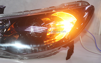 For Honda Civic 2006-2010 Head Lamp Japanese Version Black Housing ...