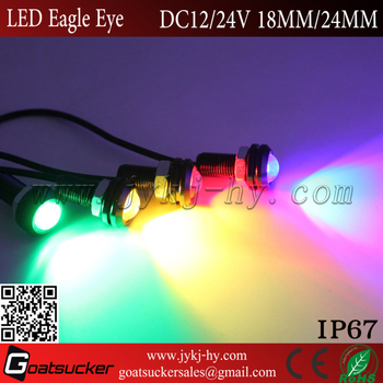 High Power 23mm Cob Led Eagle Eye For Car Motorcycle Drl Backup ...