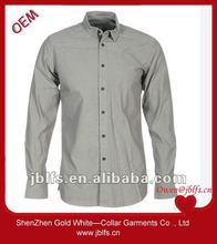OEM promotional slim fit buttons down business shirt