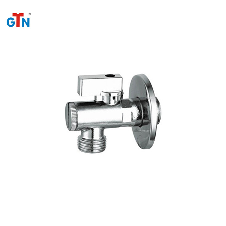 Factory promotional brass toilet sanitary ART240V-A 90 degree ball valve