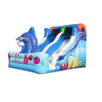 16031201 high quality commercial inflatable shark water slide for sales