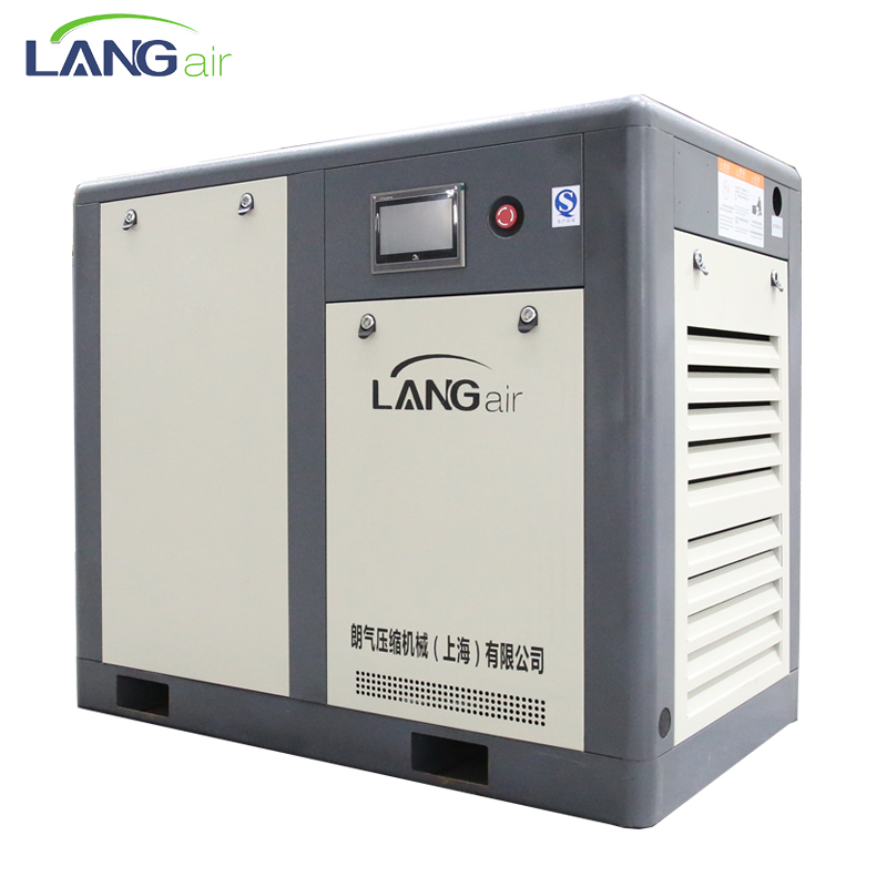 Langair 45KW 7.7m3/min 8.0bar direct gedreven schroef elektrische air compressor made in China/schroef compressor