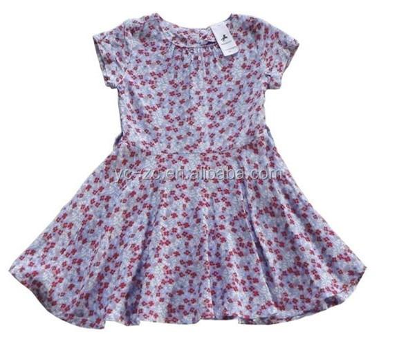 2015 White Pretty Summer Girl Summer Dress Baby Cotton Frocks ...