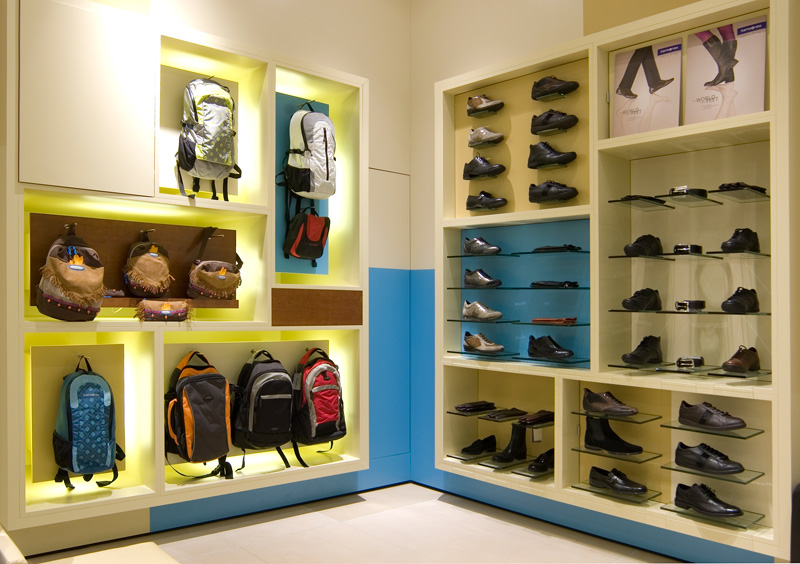 shoes display fixture display stand Shop Counter Design