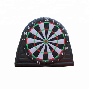 Guangzhou Factory Inflatable Sport Games Single Side Inflatable Football Dart Soccer Dartboard For Kids and Adults