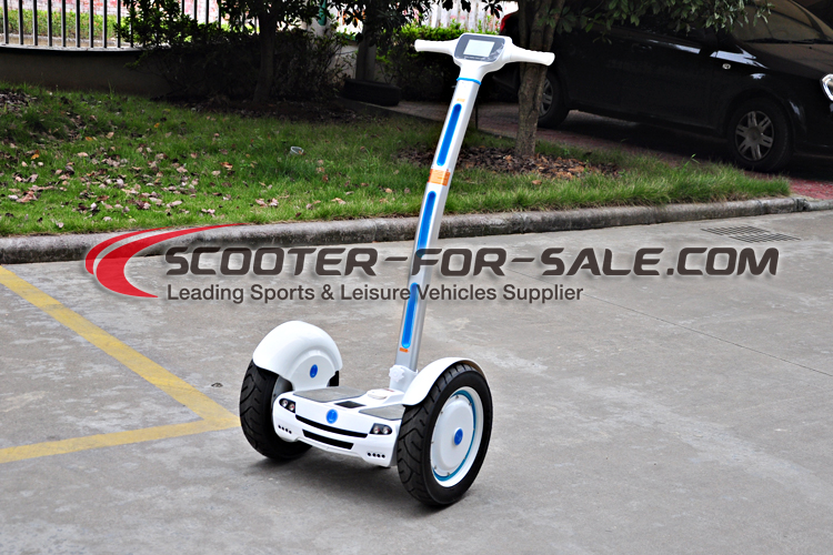 Electric Chariot Racing Scooter With 2 Front Small Wheels Motorcycle