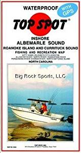 Top Spot Map N240 Inshore Albemarle by Top Spot
