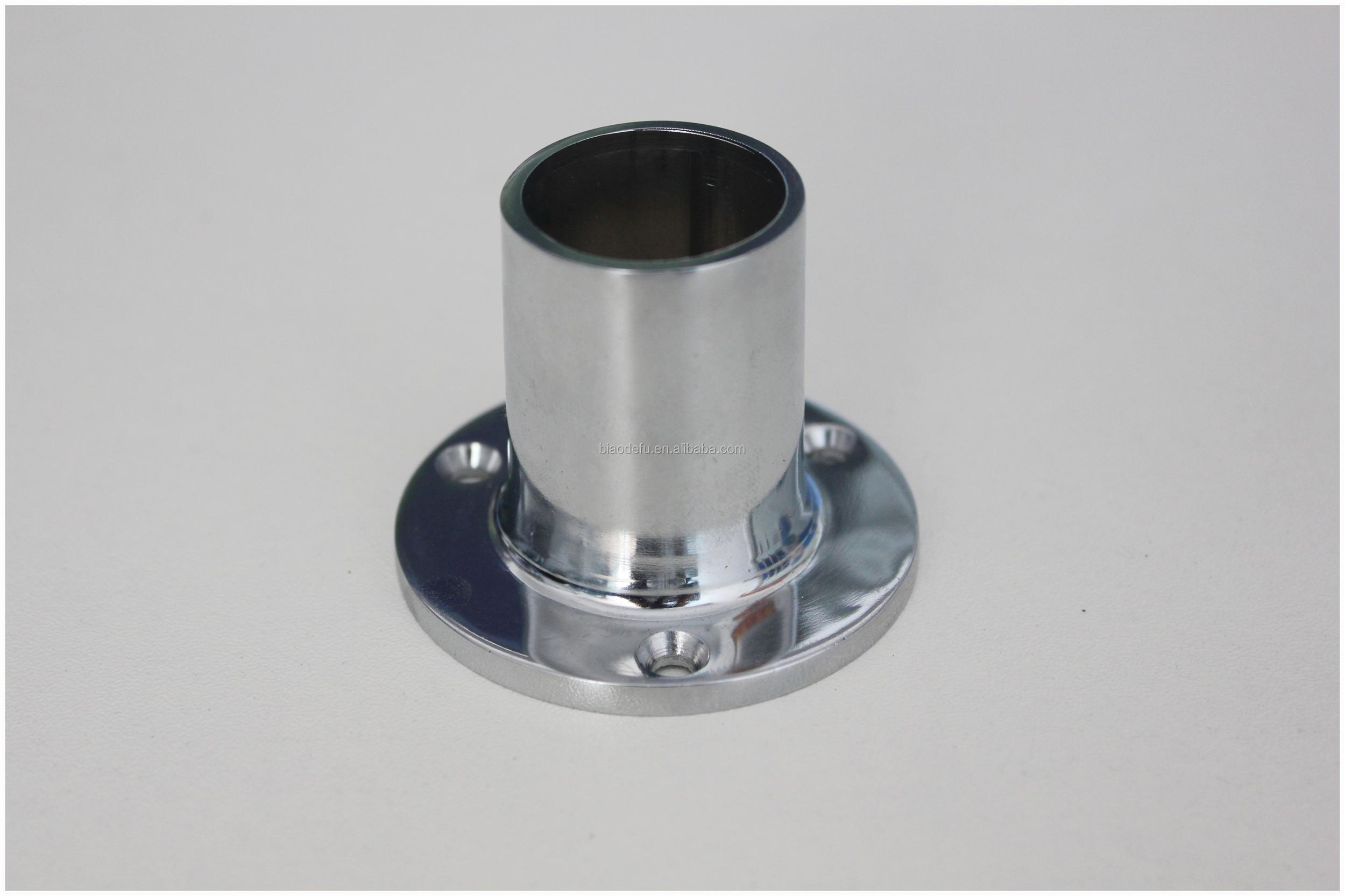 19mm 22mm 25mm Round Pipe Fitting Flange Post Base View