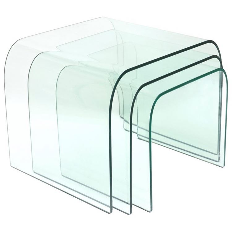 4mm 5mm 6mm heat absorbing hot bending replacement glass for building construction