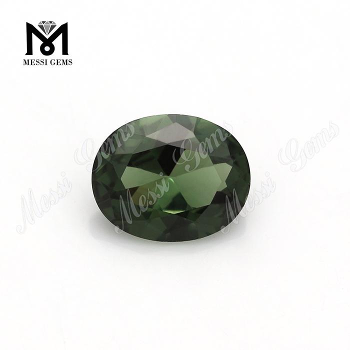 Wuzhou Loose Gemstone Oval 10 X 8 Mm 149 # Green Spinel Gemstone ...