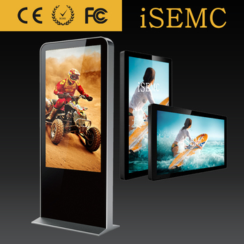 Wifi 40 Inch Touch Screen Wall Mount Large Size Digital Photo Frame ...