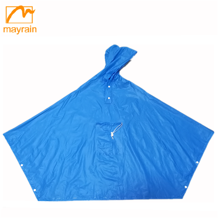 Top Quality Useful Camping Raincoat Women PVC Poncho