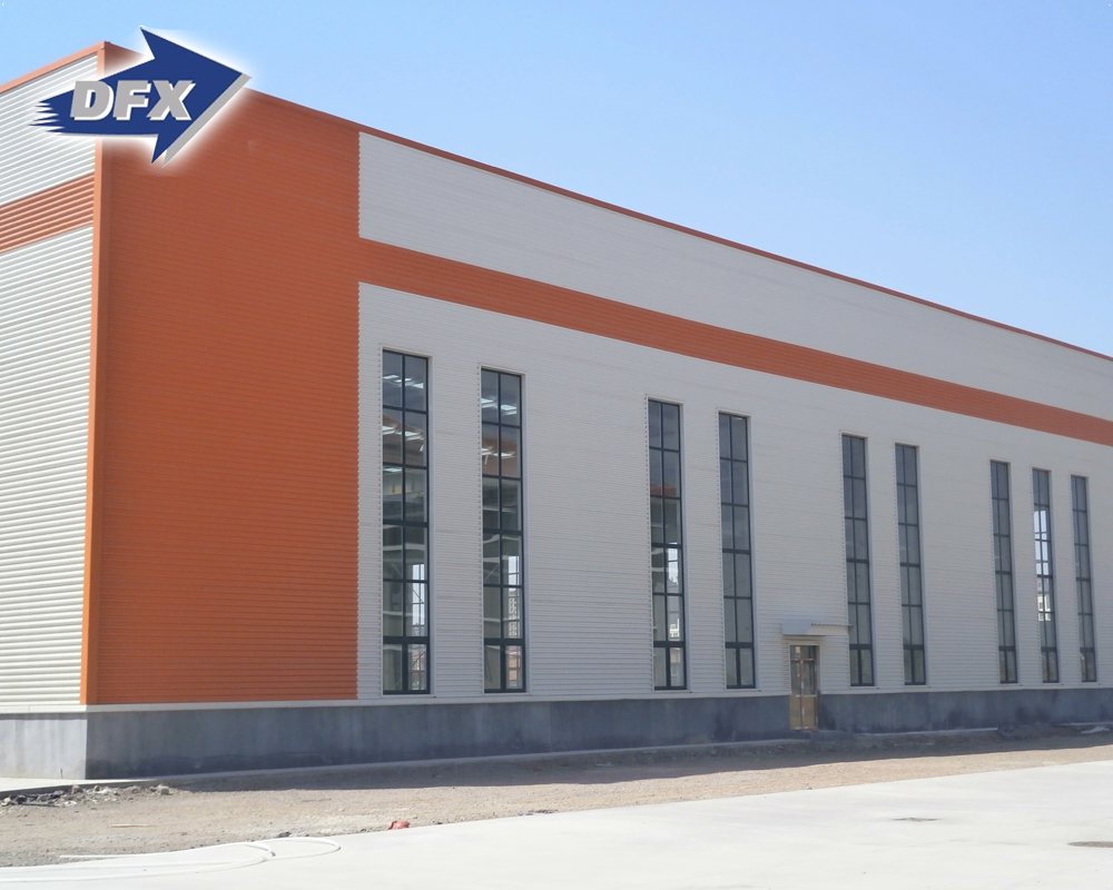 Low Cost Factory Price Certificated Industrial Prefabricated Workshop Steel Building