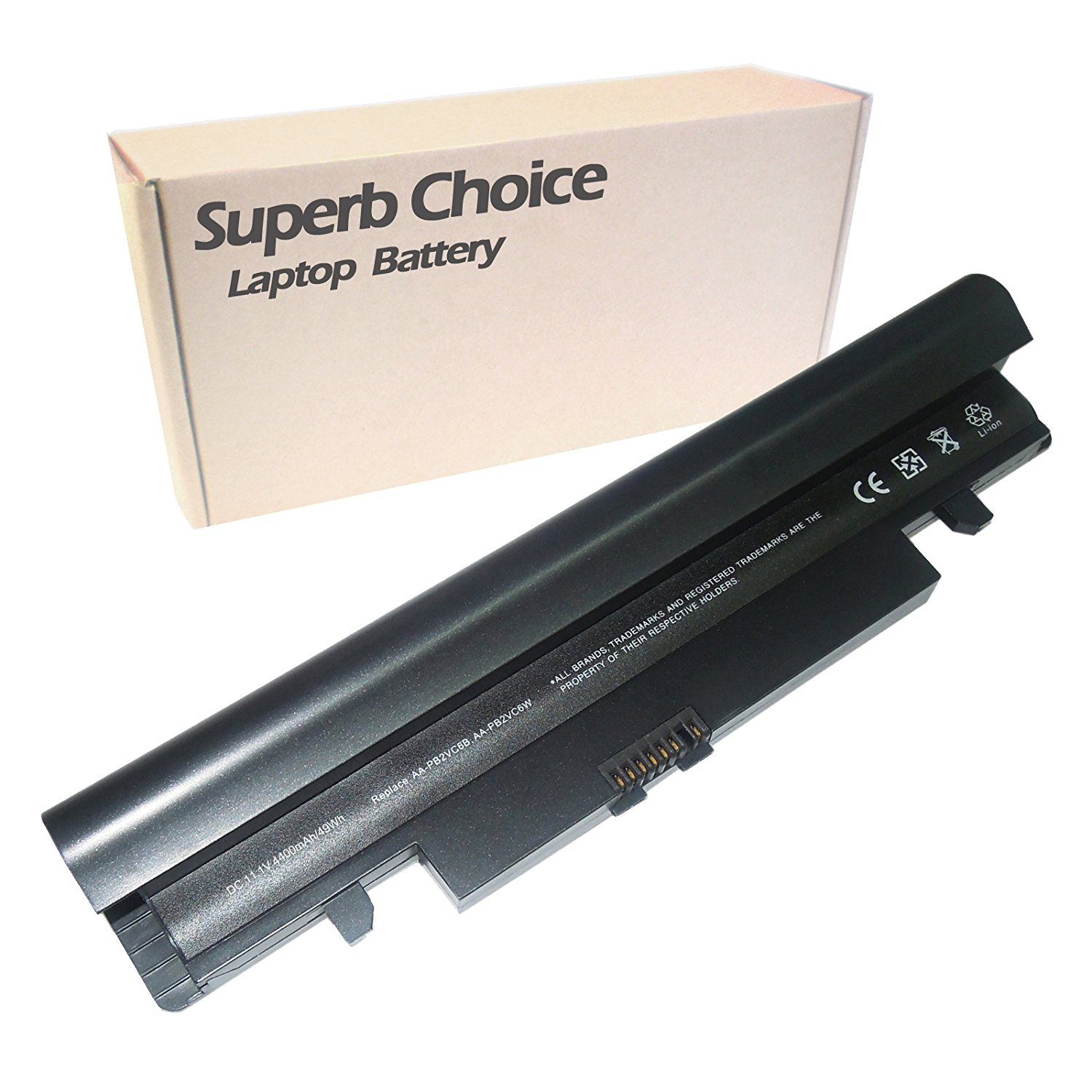 SAMSUNG NP-N150 PLUS Laptop Battery - Premium Superb Choice® 6-cell Li-ion Battery