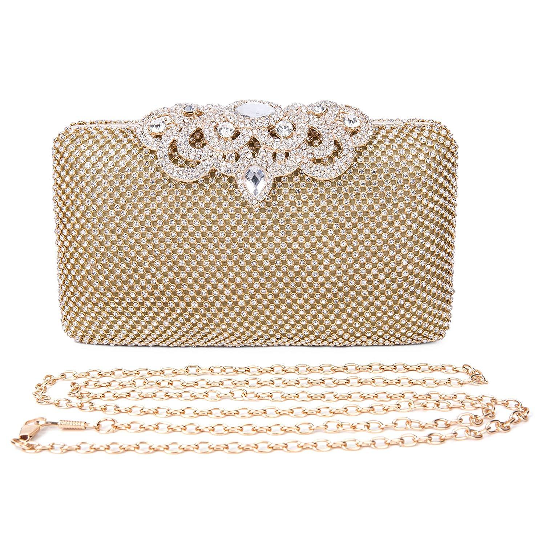 Get Quotations · 2017 Fashion Crystal Bag Clutch Purse Luxury Rhinestone Evening  Bag Jewelry Handbag 0362aeb459e2